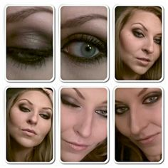 Make up for grey eyes