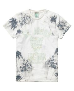 Allover printed tee | T-shirt s/s | Boys Clothing at Scotch & Soda