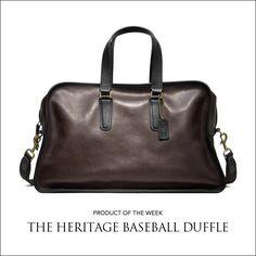 Men's Coach Baseball Duffle