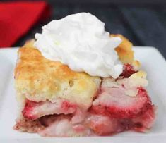 Strawberry Cobbler – Weight Watchers Freestyle