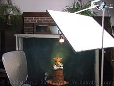 DIY home backdrop stand instructions