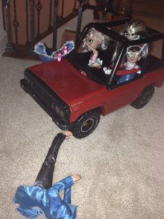 Mischievous driving