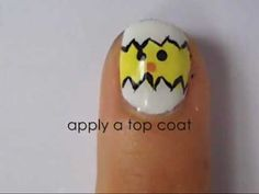 Cute Easter Nail Art - YouTube check out www.MyNailPolishObsession.com for more nail art ideas. Easter Nail Art, White Polish, Art Ideas, Beauty Hacks, How To Apply, Cute, Youtube, Check, Beauty Tricks