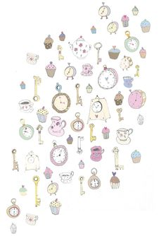 Clocks, cakes and keys