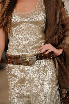 Spring 2011 - love! I have this belt and scarf!!! I love them!