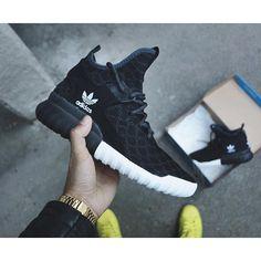 @adidas Tubular X #BLACK #SNEAKERS