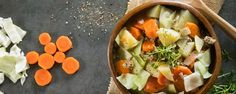 Celebrate St. Patty's Day with this savory, rustic soup. It's loaded with veggies and protein, making it a great dinner option all year long.