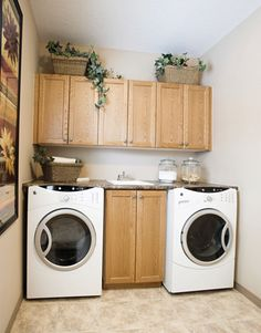 Ideas For Combining A Bathroom With A Laundry Room For A Basement