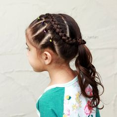 Hairstyles hair ideas hairstyles ideas braided hair braided hairstyles braids for girls braids for little girls toddler hairstyles toddler hair ideas braids 8 cool and easy to pull off braids for short hair Cute Toddler Hairstyles, Childrens Hairstyles, Little Girl Hairstyles, Braided Hairstyles, Cool Hairstyles, Braids For Short Hair, Braids For Kids, Girls Braids, Kid Braid Styles