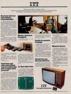 Televisor ITT. Año 1978