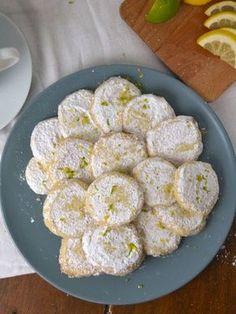 galletas fáciles de limón receta