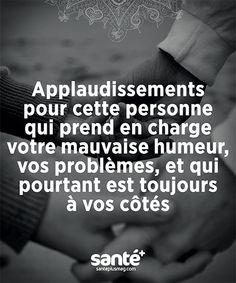 #Citations #vie #amour #couple #amitié #bonheur #paix #Prenezsoindevous sur: www.santeplusmag.com Positive Life, Positive Attitude, Motivational Messages, Inspirational Quotes, Keep Calm And Smile, Quote Citation, Keep Calm Quotes, French Quotes, Word Pictures