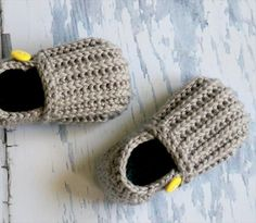 Stunning Crochet Toddler Shoes | 101 Crochet