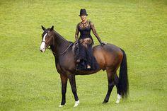 Side Saddle Sophistication By Marjorie Harvey....!