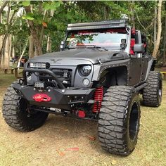Custom Jeep Wrangler lifted and kitted out. Discount Wheels and Rims #Discount…