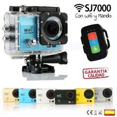 Camara deportiva SJ700 con Wifi y mando distancia #camaradeportiva #sjcam #sj7000 #mandocamaradeportiva #gadgets