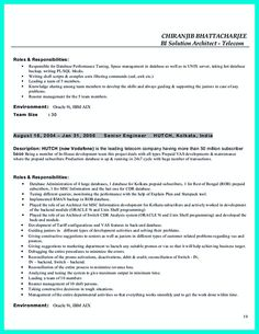 Data Architect Resume 16 fields related to enterprise data architect In The Data Architect Resume One Must Describe The Professional Profile Of The Applicant As