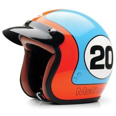"""""""Your name"""" Le Mans helmet at the King of Cool"""