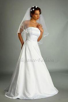 Einteiliges Brautkleid Joelle Hochzeitskleid von Elegance-Fashion auf DaWanda.com