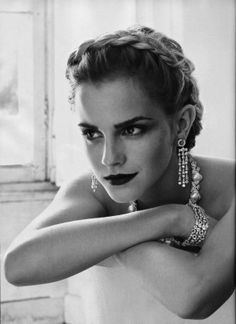 Emma Watson, actress. From Hermione Granger (Harry Potter) to Sam (Perks of Being a Wallflower) she plays strong opinionated girls.