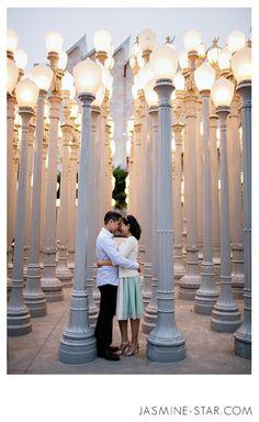 LACMA Engagement : Stu + Joanne - Jasmine Star Photography Blog