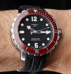 Tissot Seastar 1000 automatic Powermatic 80 movement