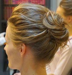 Messy+Bun+For+Short+Hair