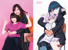 Rikka Takarada & Akane Shinjo | SSSS.GRIDMAN #Seiyuus #voiceActresses Female Characters, Anime Characters, Nice Thighs, Bishop Arts, Anime Art Girl, Sword Art Online, Manga Anime, Cute Girls, Sketches