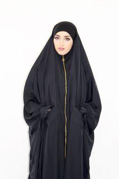 Fancy a stylish jilbab? So opt for the jilbab Ryadh City Abaya Style, Hijab Style, Hijab Chic, Arab Fashion, Fashion 2020, Womens Fashion, Abaya Pattern, Modele Hijab, Beautiful Muslim Women