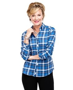 Blue Bird Plaid Shirt