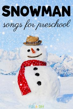 Kids love to sing, and winter is a great time to mix up your music routine! Use these songs during circle time, during transitions, or for some extra fun during the preschool or kindergarten day! Theyre great for toddlers, too. Movement Preschool, Preschool Music, Preschool Activities, Kindergarten Music, Therapy Activities, Early Learning Activities, Winter Activities, Fun Songs, Kids Songs