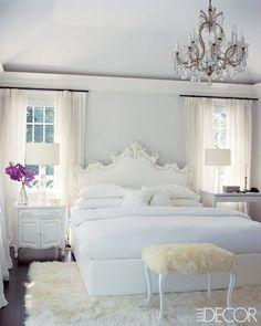 elle-decor-white-bedroom-sheepskin-chandelier