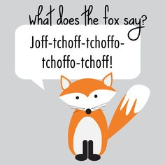 What does the fox say? Weirdest, funniest, most annoying video ever.