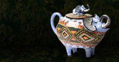 Charles Greig Jewellers | Ardmore | Elephant Teapot