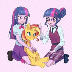 See more 'My Little Pony: Equestria Girls' images on Know Your Meme! My Little Pony Comic, My Little Pony Drawing, My Little Pony Pictures, Tiny Horses, Princess Twilight Sparkle, Little Poni, Imagenes My Little Pony, Animes Yandere, Mlp Pony