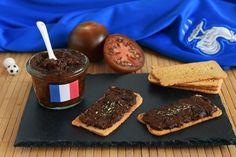 Cocina de Francia: paté o tapenade de tomates Kumato® Tapas, Skewers, Appetizers, Cookies, Desserts, Ideas Decoración, Gluten, Drinks, Gastronomia