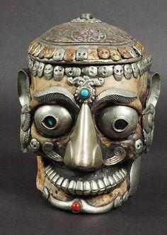 tibetan skulls | The Tibetan skull is an indigenous part of Tibetan Buddhist imagery ...