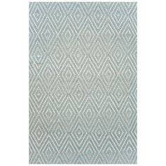 Woven Cotton Blue Area Rug Found it at Wayfair – Woven Diamond Light Blue/Ivory Rug Dash And Albert, Rug Company, Cool Rugs, Indoor Outdoor Area Rugs, Outdoor Spaces, Blue Ivory, My Living Room, Living Spaces, Woven Rug