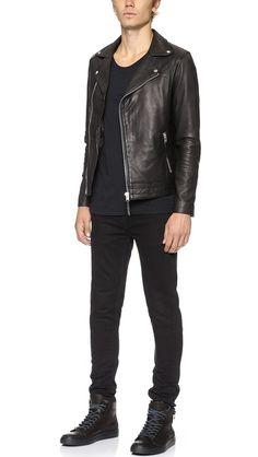 Won Hundred Leather jacket