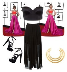 """Grammys in Black (#61)"" by nellygirl110 on Polyvore featuring Ultimo, Étoile Isabel Marant, GUESS, Aurélie Bidermann, women's clothing, women, female, woman, misses and juniors"