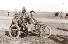 Motorcycle Machine Gun