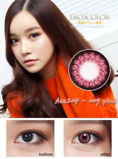 Va-S204 Pink - Now 31% OFF at bodeal.com Pretty In Pink, Lenses, Lentils
