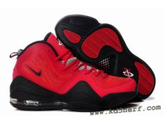 watch 735f9 52a0d Nike Air Penny 5 Red Black - Penny Hardaway Shoes Discount Soccer Shoes, Nike  Shoes