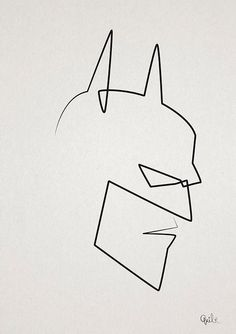 Learning how to draw the batman symbol is extremely easy