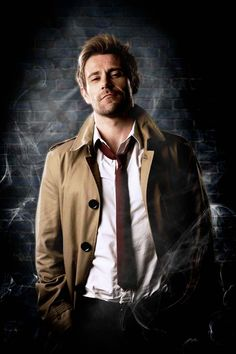 Primera imagen de Matt Ryan como John Constantine :: subdivx