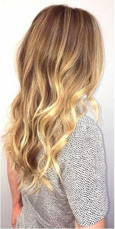 honey gold blonde highlights - great hair blog