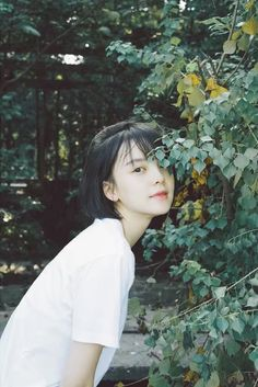 My Hairstyle, Girl Short Hair, How To Pose, Portraits, Portrait Inspiration, Ulzzang Girl, Look Cool, Girl Photography, Japanese Girl