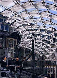 Synthetic Tectonics: AA Membrane Canopy in London