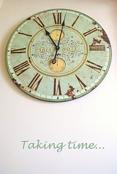 I need this old clock