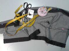 Pantaloni in riparazione